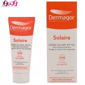 کرم ضد آفتاب مناسب انواع پوست SPF50 درماگور - DERMAGOR