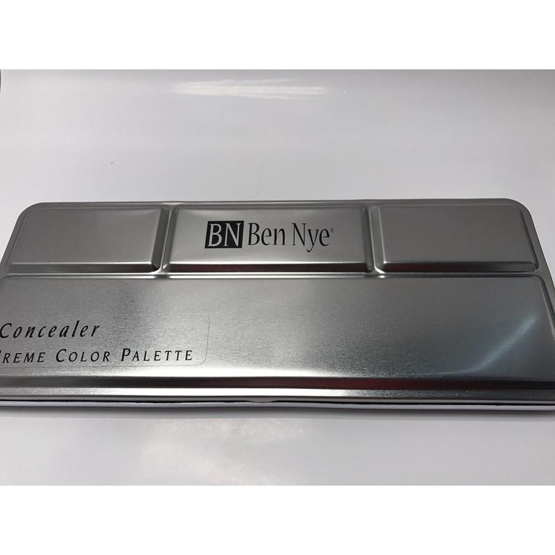 پالت کانسیلر 12 رنگی بن نای - media pro concealer palette Ben Nye