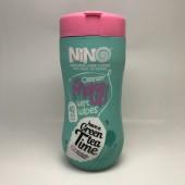 دستمال مرطوب کمر باریک نینو مدل چای سبز حاوی بسته 40 عددی-Nino