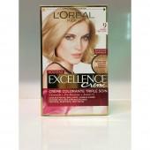 کیت رنگ مو اکسلانس بلوند روشن شماره 9 لورال - LOREAL
