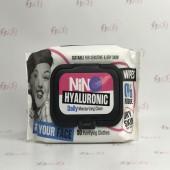 پاک کننده آرایش نینو حاوی هیالورونیک اسید بسته 50 عددی - NINO