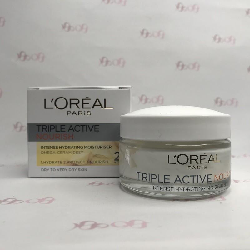 کرم آبرسان شب لورال مدل تریپل اکتیو 50 میل -L'Oréal