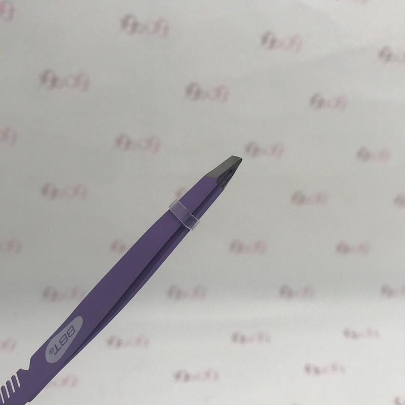 موچین ابرو شانه دار مدل Brow Perfect Tweezer بیول - Biol